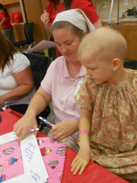 Thumbnail image for Popcorn and PJs Bring Hope, Encouragement to Patients at Children's Hospital
